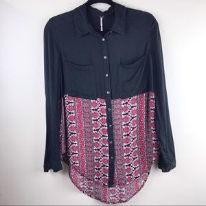 Free People | Button Up Blouse             A-116-1